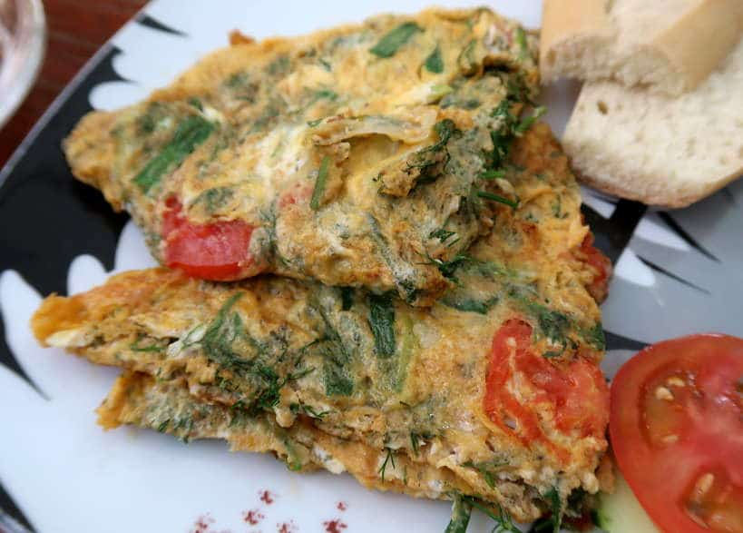 Laos Omelet for Laos Food by Authentic Food Quest