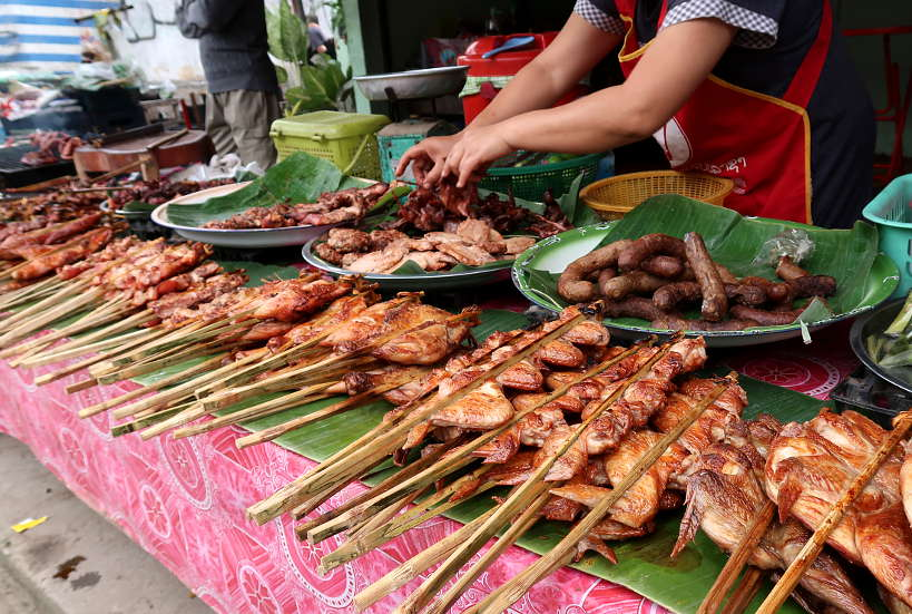 Laotian BBQ for Laos Food by Authentic Food Quest