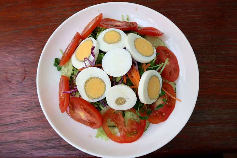 Luang Prabang Salad for food in Luang Prabang by Authentic Food Quest