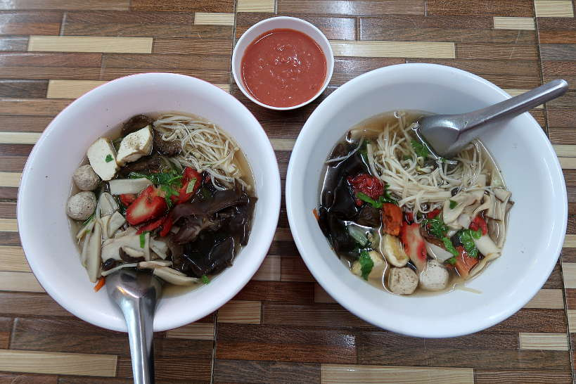 Mushroom Soup for Food in Chiang Mai by Authentic Food Quest