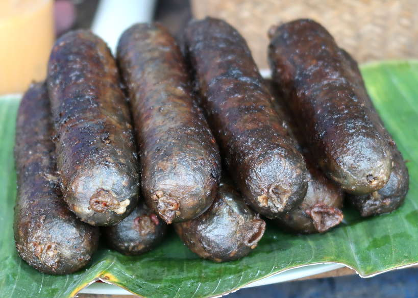 Sai Oua Krouaille for Laos Buffalo Sausage for Luang Prabang Food by Authentic Food Quest