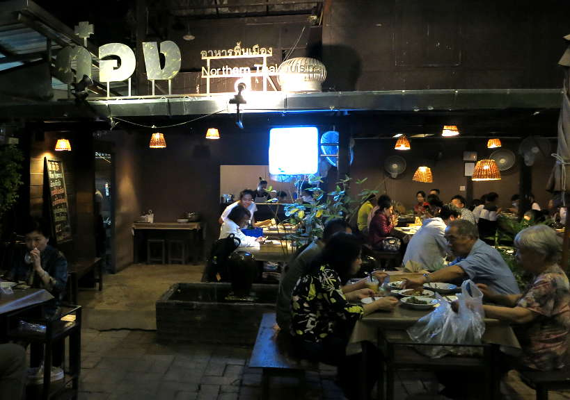 Tong Tem Toh for Best Restaurant in Chiang Mai by Authentic Food Quest