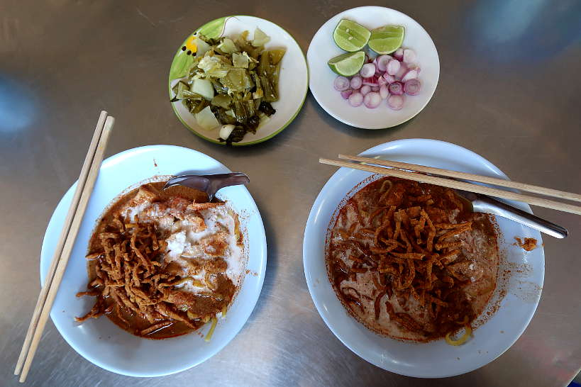 Chiang Mai Noodles at Khao Soi Mae Manee by Authentic Food Quest