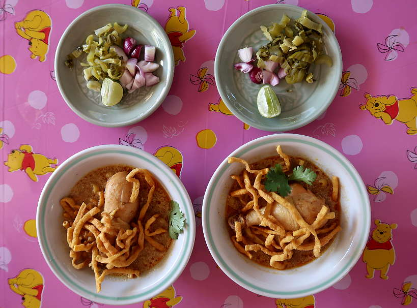 Chiang Mai Noodles at Khao Soi Arak by Authentic Food Quest