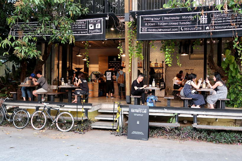 Ristr8to coffee shop in Nimman one of the best place to stay in Chiang Mai by Authentic Food Quest