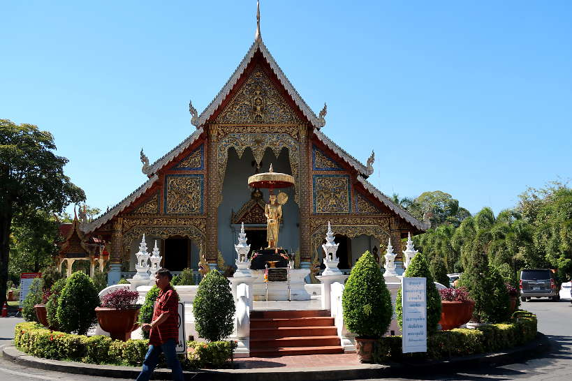 Wat Phra Singh on the west side of Chiang Mai Old City one of the Best Place to Stay in Chiang Mai Authentic Food Quest