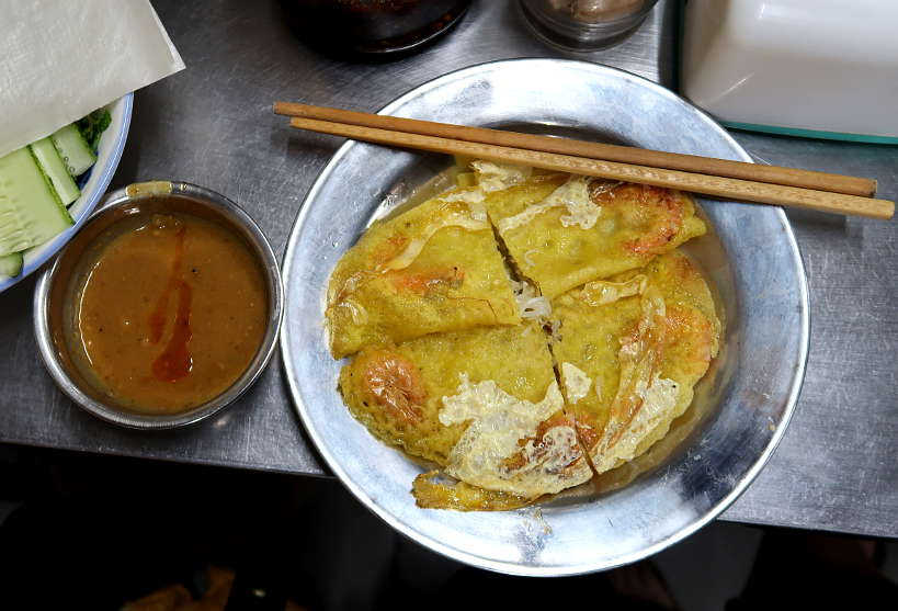 Banh Xeo at Con Market in Danang by Authentic Food Quest