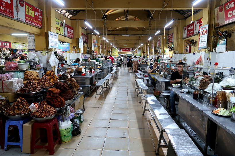 Inside Cho Con Market the Market Vendors by Authentic Food Quest