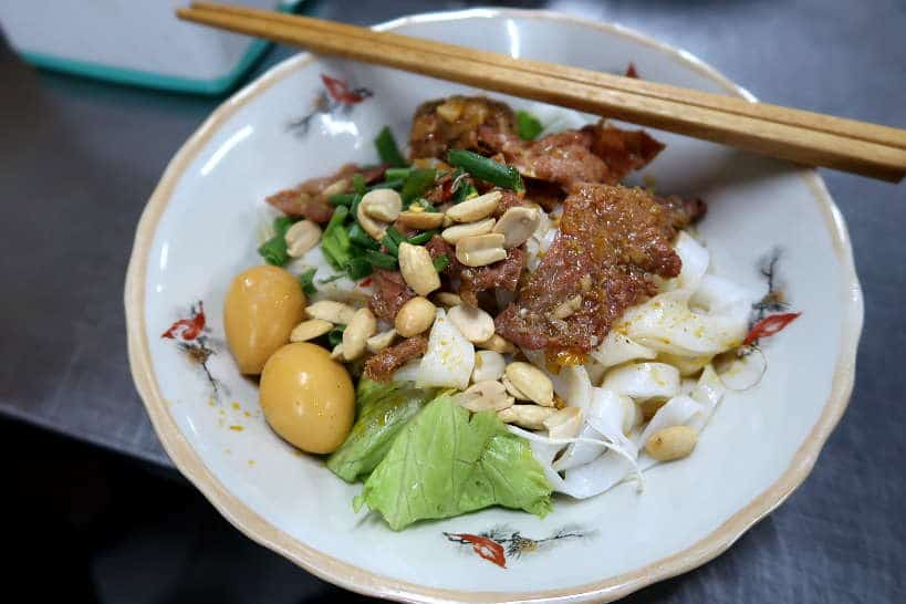Mi Quang Our second stop on our Danang FoodTour by Authentic Food Quest