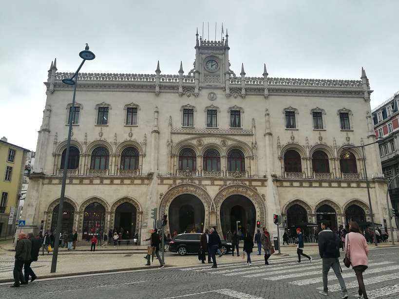 Rossio Train Station to go from Lisbon to Sintra Authentic Food Quest