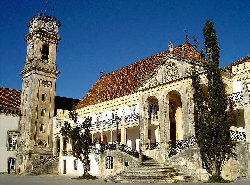 The oldest Portuguese University in Coimbra