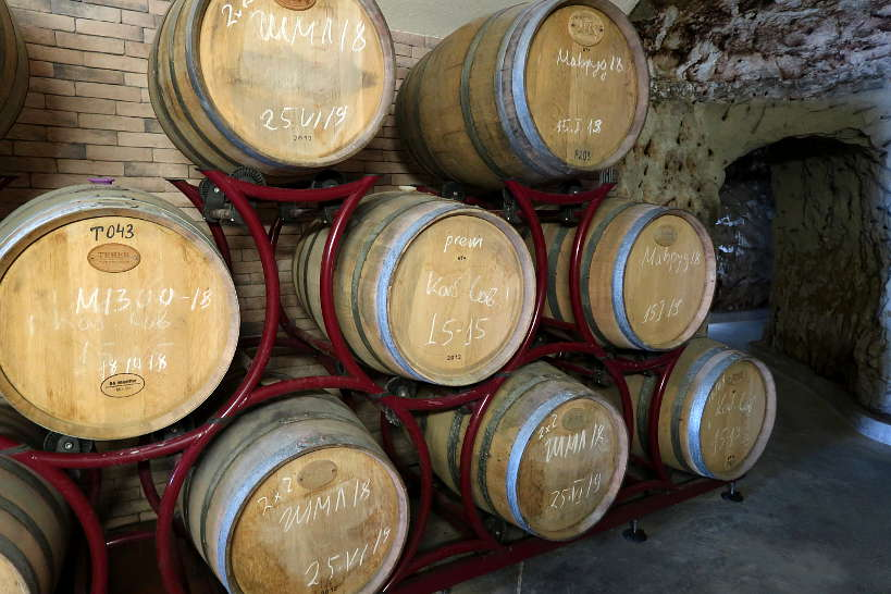 Barrels for Melnik Wines by Authentic Food Quest