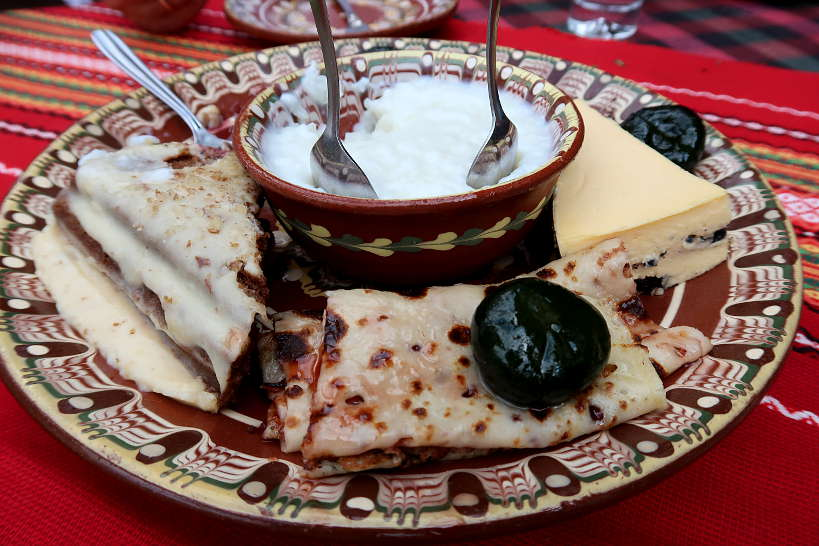 Dessert Plate Bulgaria Food by Authentic Food Quest.