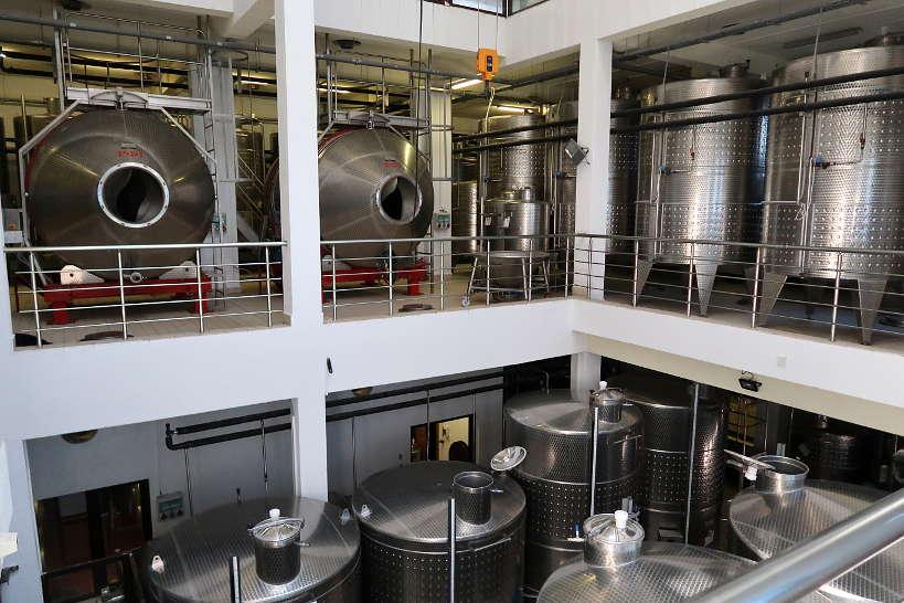 Fermentation Tanks at Villa Melnik by Authentic Food Quest