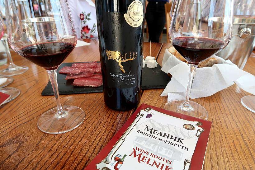 Hailstorm VIlla Melnik Reserve Wine by Authentic Food Quest