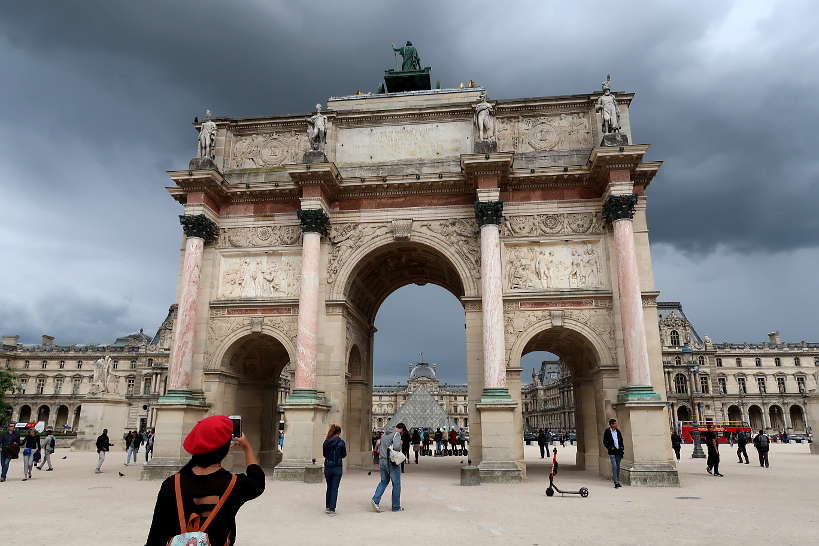 Louvre in Paris for Allianz Travel Insurance by Authentic Food Quest