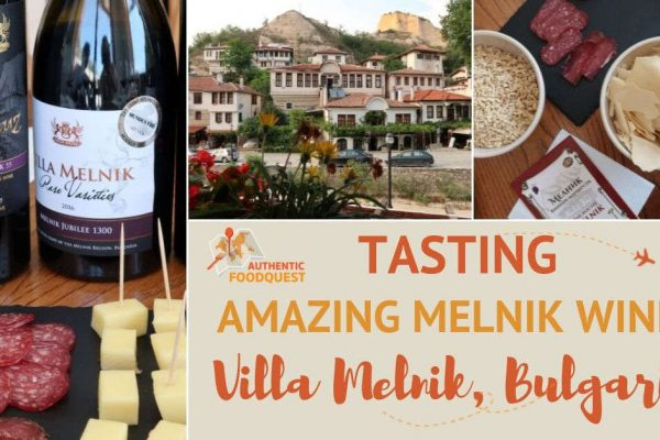 Melnik Wines at Villa Melnik Winery Bulgaria by Authentic Food Quest