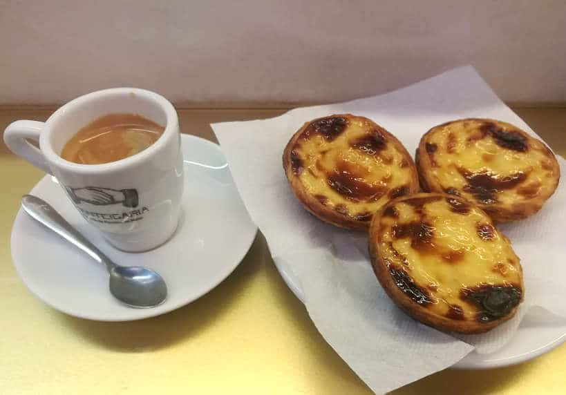 Pasteis de Nata with Bica at Manteigaria by Authentic Food Quest