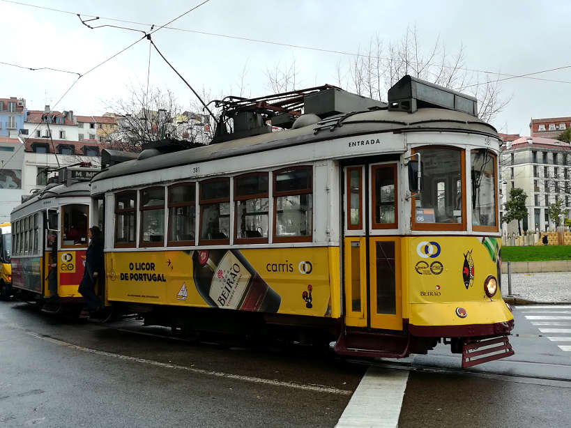 Yellow Tram Lisbon by Authentic Food Quest for one of the best things to do in Lisbon