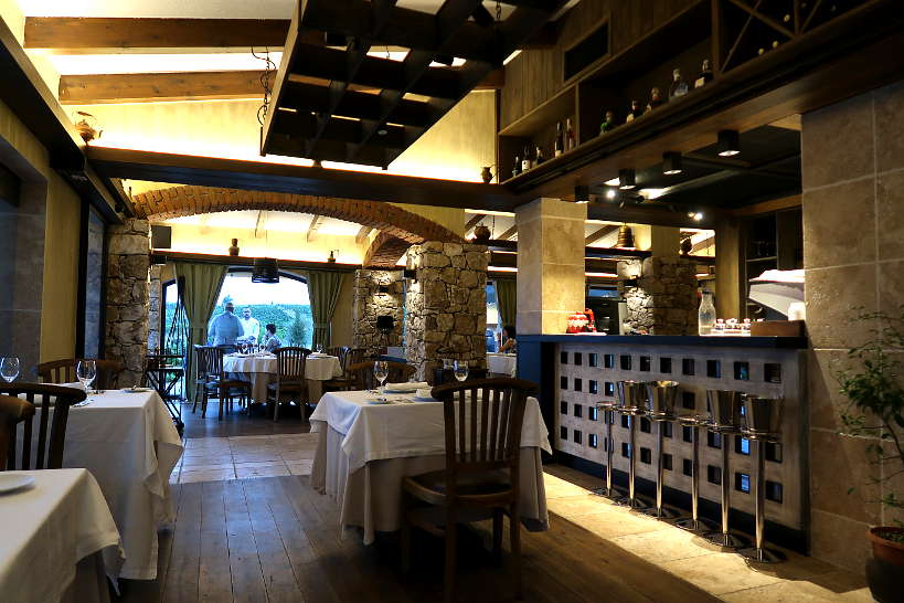 aEstivum Restaurant Melnik Bulgaria at Zornitza Family Estate by Authentic Food Quest