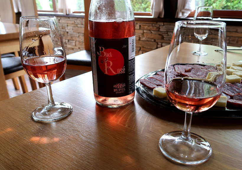 Black Rose Rupel Wine Melnik Bulgaria by Authentic Food Quest