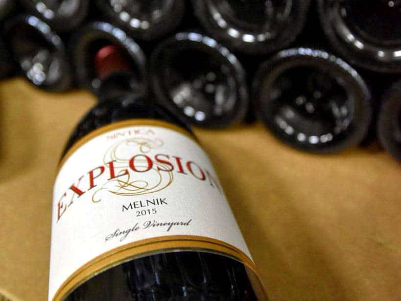 Explosion Bulgarian Red Wine at Sintica Winery in Melnik by Authentic Food Quest