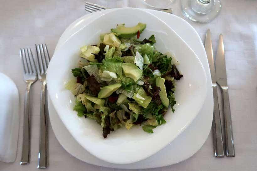 Green Salad at Villa Yustina Bulgaria by Authentic Food Quest