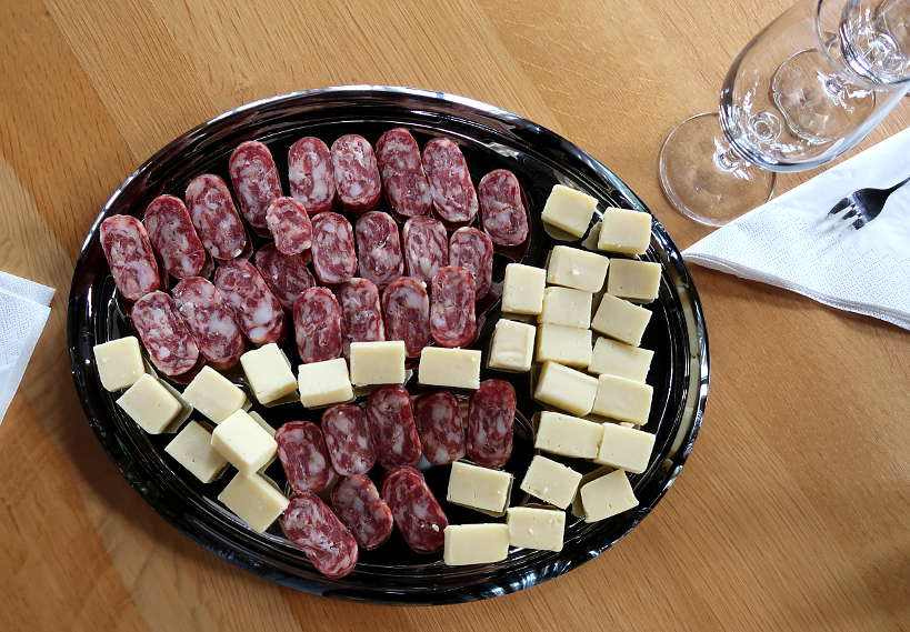 Kashkaval and Dry Meat Melnik Bulgaria by Authentic Food Quest