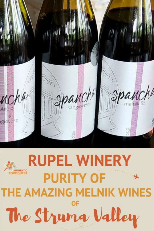 Pinterest Rupel Winery by Authentic Food Quest