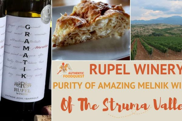 Rupel Winery in Melnik Bulgaria by Authentic Food Quest