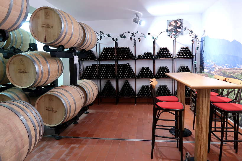 Tasting Room at Rupel Winery Melnik Bulgaria by Authentic Food Quest
