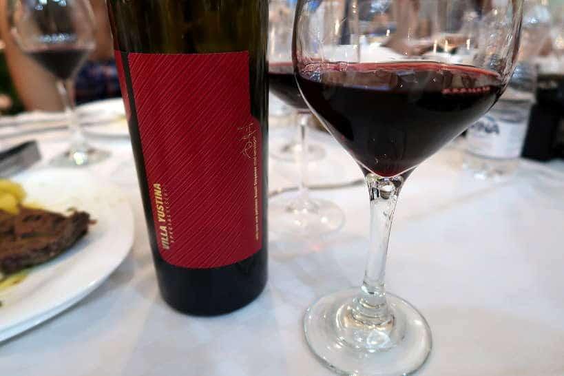 Villa Yustina PGI Wine Thracian Valley Bulgaria by Authentic Food Quest