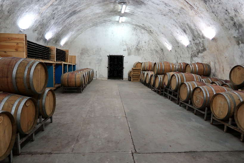 Wine Cellar Sintica Winery Melnik Bulgaria by Authentic Food Quest