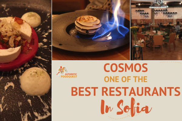 Cosmos One of the Best Restaurants in Sofia for Modern Bulgarian Food