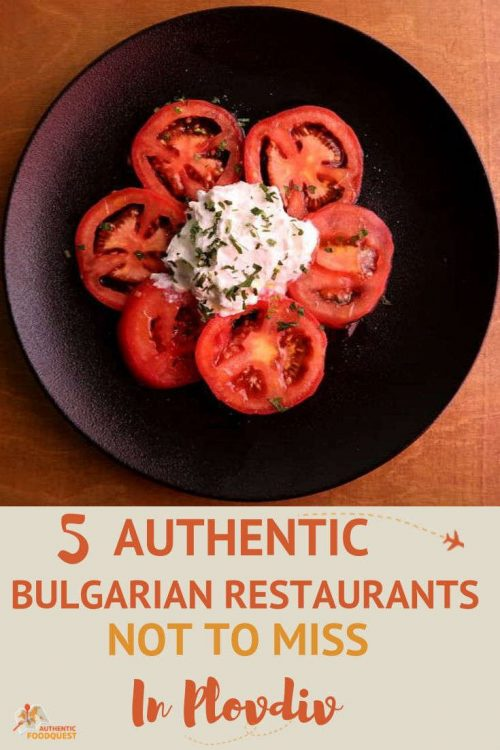 Pinterest Plovdiv Restaurants by AuthenticFoodQuest