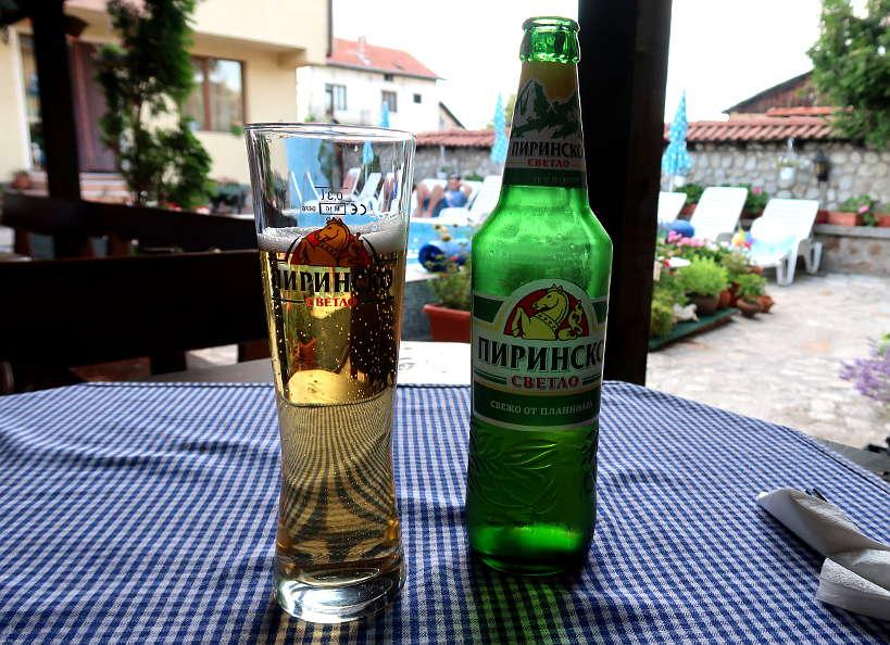 Pirinsko Bulgarian Beer AuthenticFoodQuest