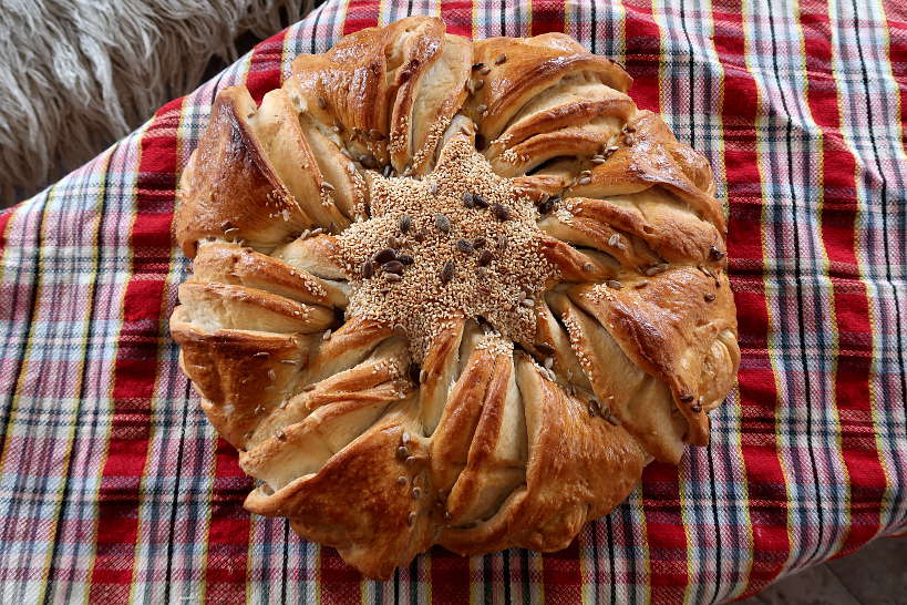 Pitca bread a Bulgarian Food AuthenticFoodQuest