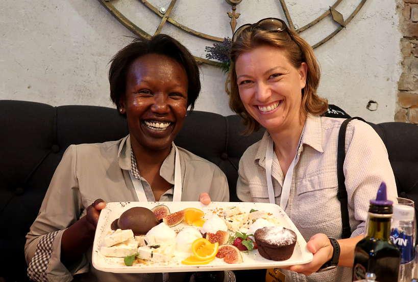 RosemaryandClaireatSmokini_PlovdivRestaurantsBulgaria_AuthenticFoodQuest