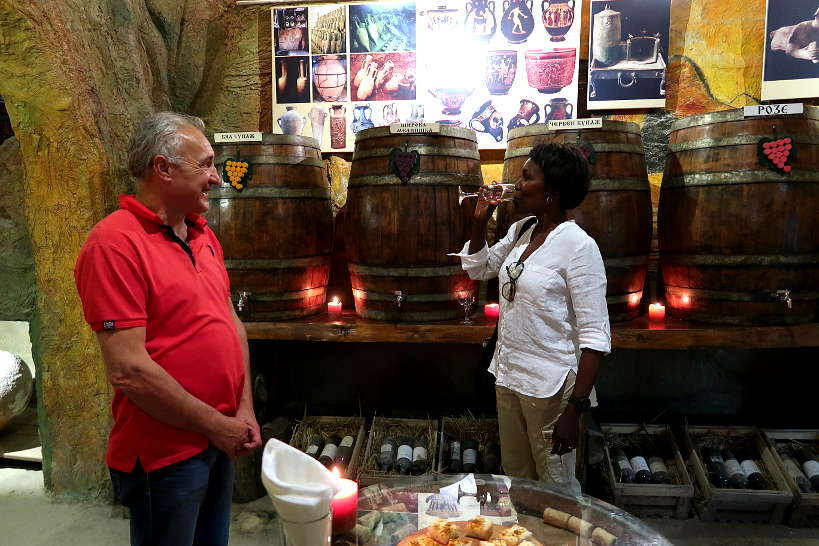 Wine Museum in Melnik Bulgaria_AuthenticFoodQuest