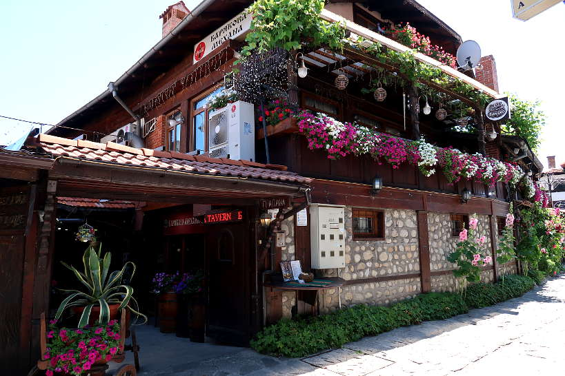 Entrance Baryakova Mehana Bansko Restaurants Authentic Food Quest