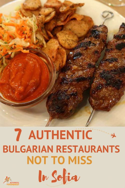 Pinterest Best Traditional Restaurants in Sofia AuthenticFoodQuest