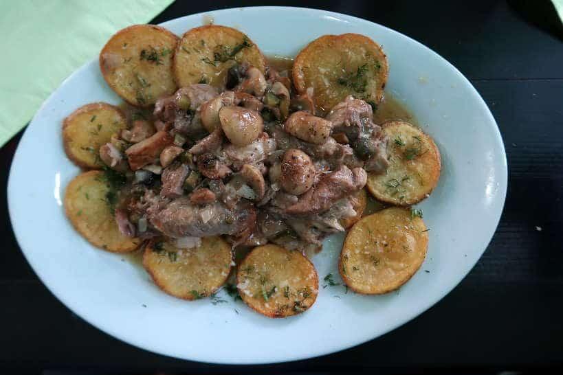 Pork Knuckle at Motikata Restaurant One of the best Restaurants in Bansko Bulgaria by AuthenticFoodQuest