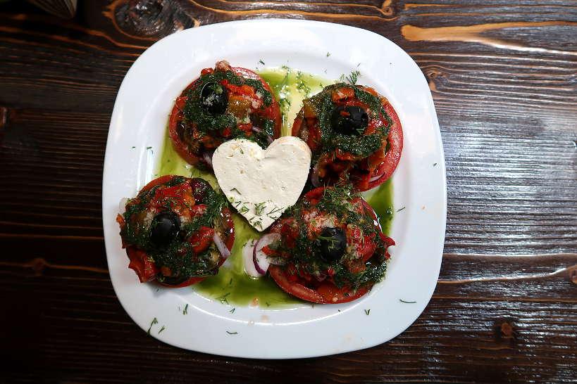 Rodopska Salad Bistro Lubimoto in Sofia AuthenticFoodQuest