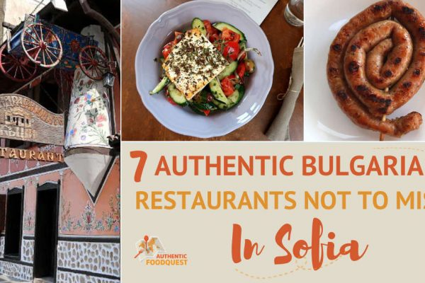 Traditional Restaurants in Sofia by AuthenticFoodQuest