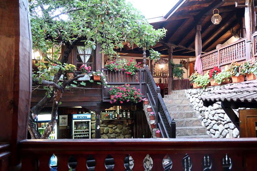 View seating Baryakova Mehana Bansko Restaurants by AuthenticFoodQuest