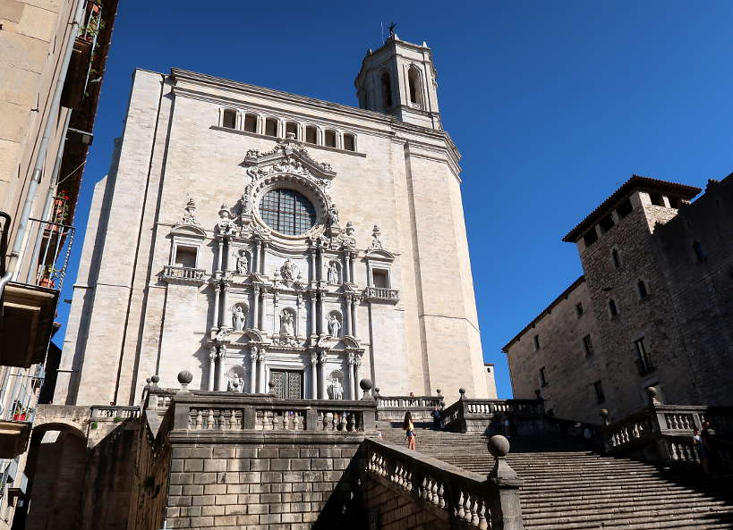 Girona Cathedral and Game of Thrones by Authentic Food Quest