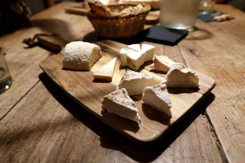 Goat Cheese Tasting Mas Alba Girona Spain by AuthenticFoodQuest