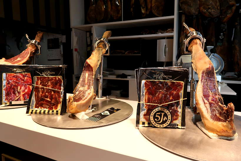Iberico Ham Tasting on Girona Food Tour by Authentic Food Quest