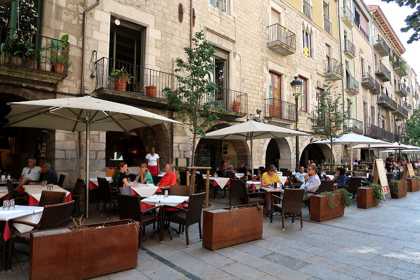 Las Ramblas Girona by Authentic Food Quest