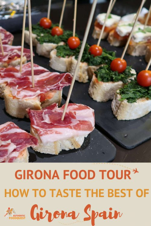 Pinterest for Girona Food Tour by Authentic Food Quest